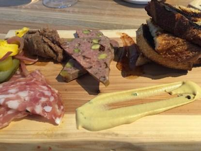 Charcuterie Plate at Urban Farmer Philadelphia