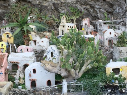 Amalfi Coast Roadside Nativity