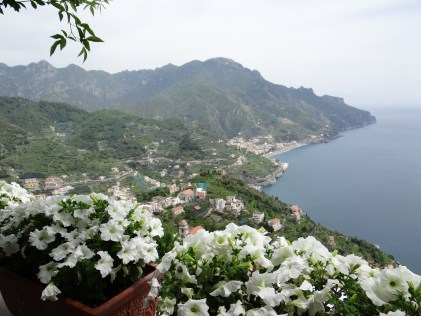 Amalfi Coast view Italy