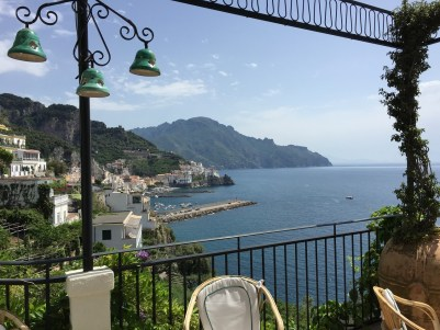Hotel Santa Caterina Amalfi Coast view