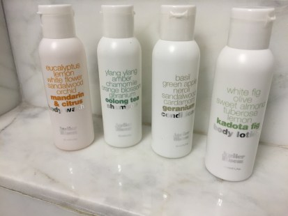 Kimpton Toiletries NYC