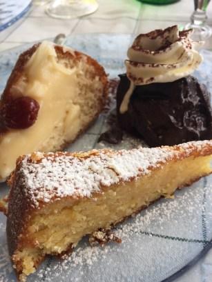 Sorrento Dessert Trio