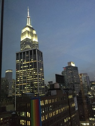 The Eventi Hotel NYC view of Empire State Building