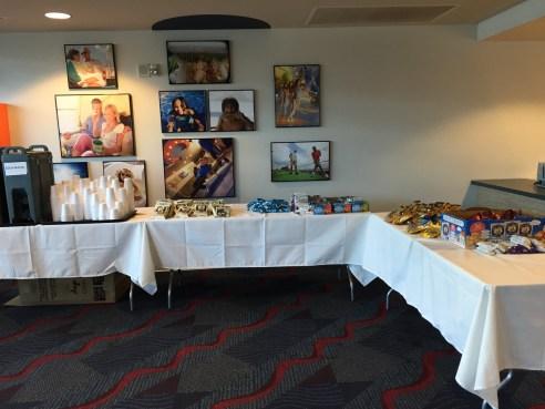Fathom Cruise terminal snacks