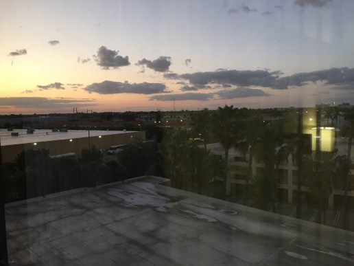 Miami Sunset from Holiday Inn Miami West