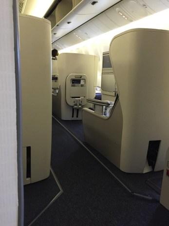 World Traveller Plus view of Club World British Airways