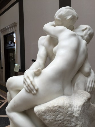 "Henri Grebers copy ""The Kiss"" by Rodin"