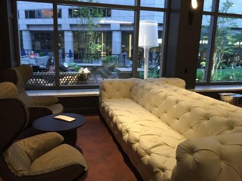 The Logan Hotel Lobby Design