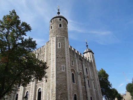 The White Tower at Tower of London Context Tour
