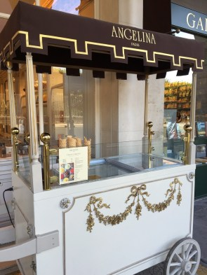 Angelina Paris ice cream cart