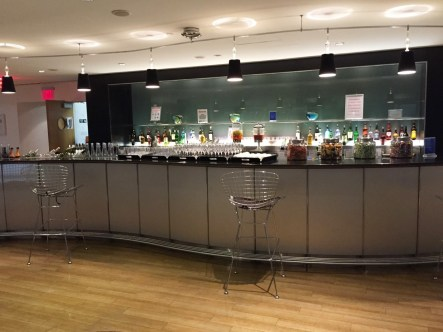 British Airways Lounge JFK Drinks Bar
