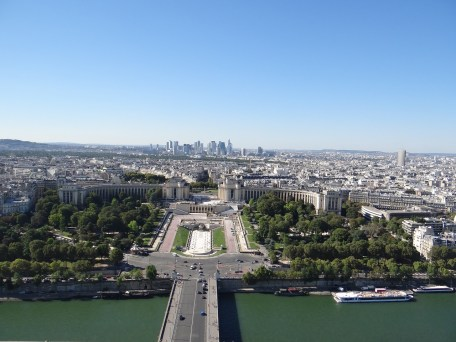 Visit the Eiffel Tower La Defense