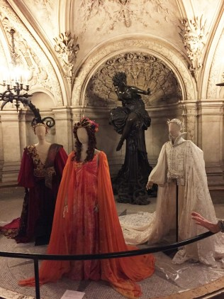Paris Opera Tour costumes