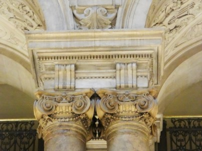 The Paris Opera Tour Grand Staircase details