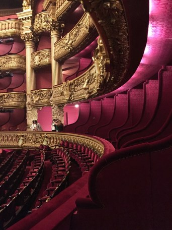 Paris Opera Tour Auditorium Theatre Seating