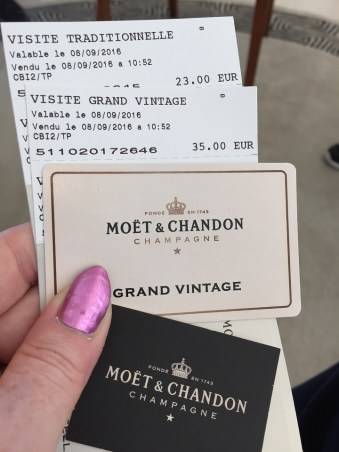 Moet & Chandon Cellar Tour and Tasting Tickets