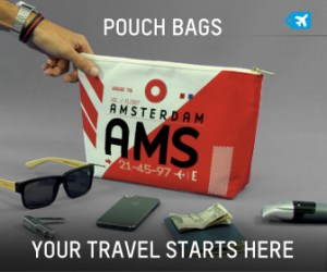 Airport Code Pouch Bag by Airport Tag
