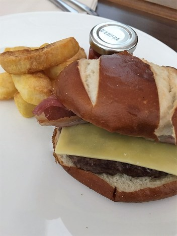 BA Concorde Room BA Burger