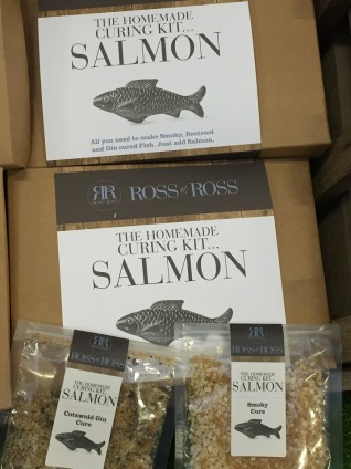 Ross & Ross Curing Kits Bacon Salmon Made in Britain food