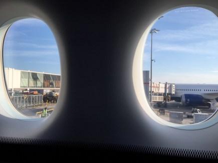 British Airways First Class View of LHR