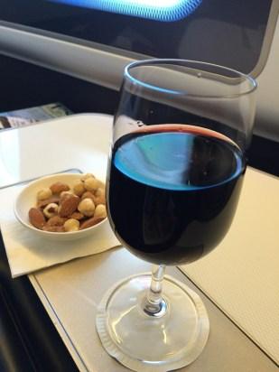 British Airways First Class Beverage Service