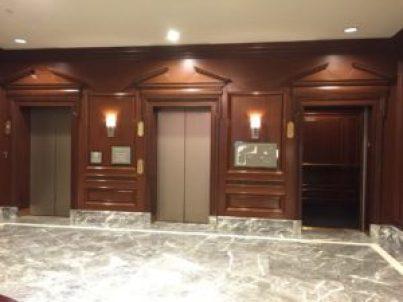 Westin Philadelphia lobby elevators