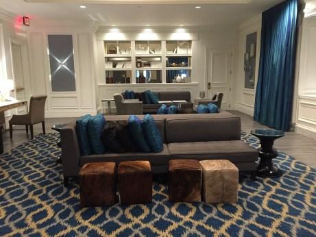 Westin Philadelphia lounge