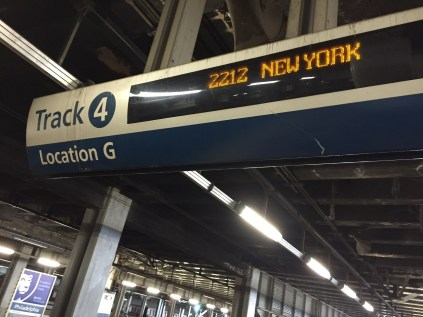 Amtrak Baggage Service Acela PHL to NYP