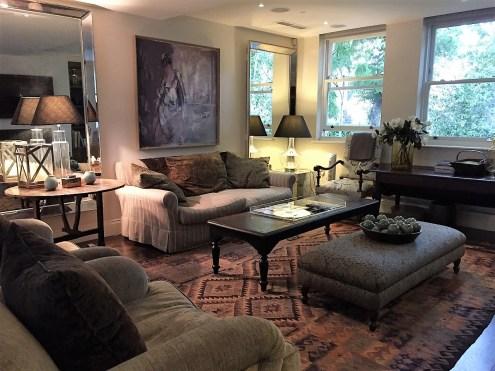 OneFineStay Drayton Mews London living room
