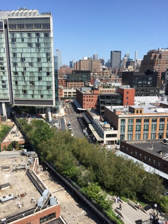 The Whitney Museum view of the High LIne