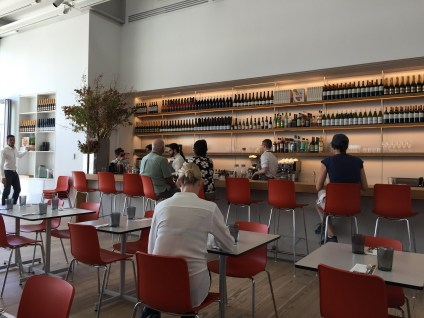 Cafe at Whitney Museum NYC
