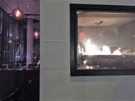 STK Midtown Fireplace