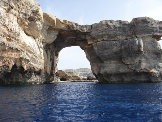 The Azure Window view from the sea