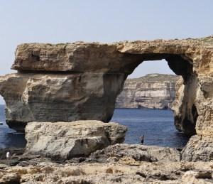 The Azure Window Gozo before collapse