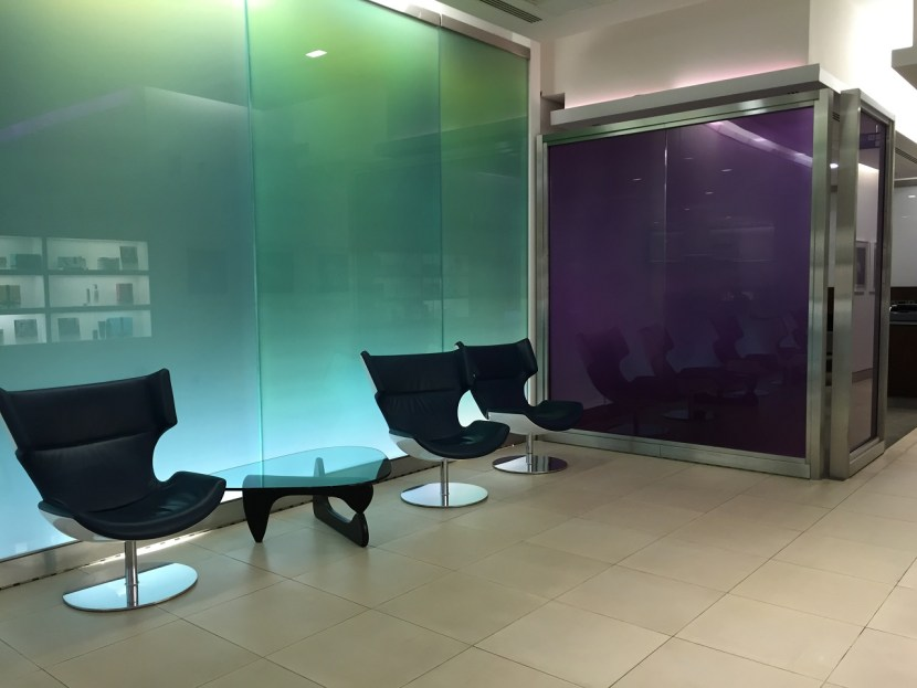 BA Arrivals Lounge Terminal 5 Shower