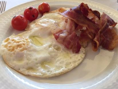 Westin Milan ala carte breakfast