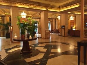 Westin Milan hotel lobby