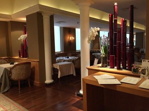 Westin Milan Palace restaurant