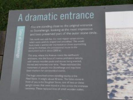 Visit Stonehenge Dramatic Entrance