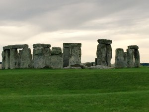 Stonehenge cloudy skies photo
