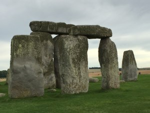 Stonehenge four stack moody photo