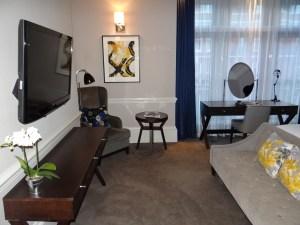 The Ampersand Hotel Deluxe Studio Room view