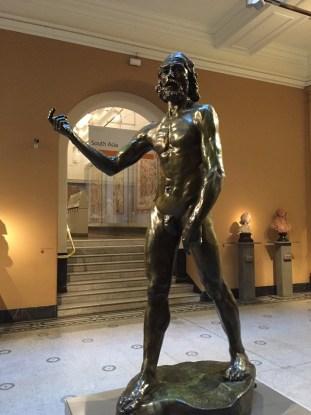 Sculpture at V&A Museum