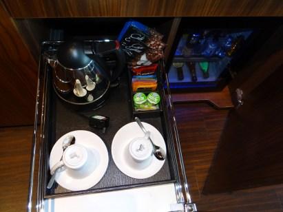 Edinburgh Sheraton Grand In Room Coffee Minibar