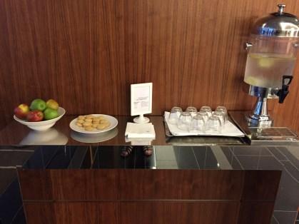 Lobby snacks Edinburgh Sheraton Grand