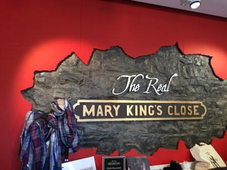 Mary King's Close tour Edinburgh three days in Edinburgh