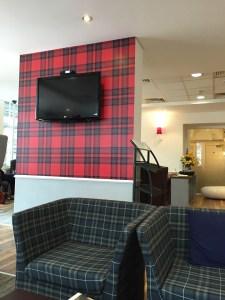 Virgin First Class Lounge Edinburgh