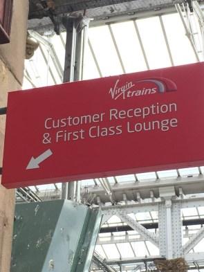 Virgin East Coast Lounge Edinburgh
