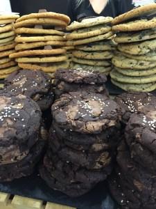 Blondie's Kitchen Cookies London Double Chocolate Tahini Sesame Seed