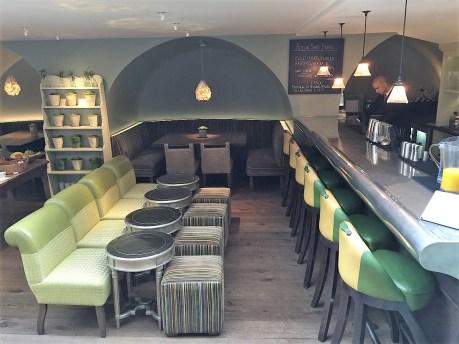 The Potting Shed Restaurant Bar at Dorset Square Hotel